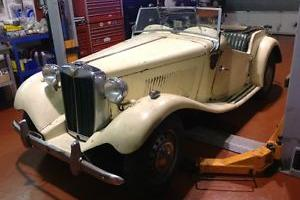1951 MG TD - Superb project vehicle for light resto, runs and drives