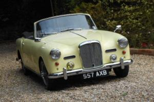 ALVIS TD21 CONVERTIBLE LAST OWNER 40 YEARS Px
