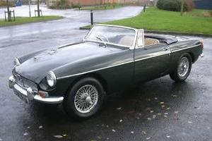 MGB Roadster, 1967, Wire Wheels, Chrome Bumpers, Tax Exempt, Overdrive Gearbox.