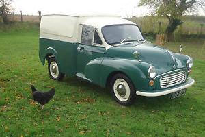 MORRIS Minor 6 CWT VAN GREEN austin barn find