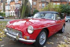 MGB Roadster. 1968.Tax Exempt. Chrome Bumpers.