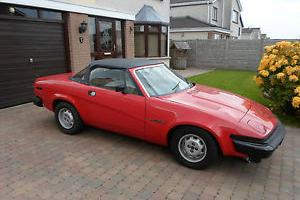 1980 TRIUMPH TR7 RED  Photo