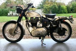 ROYAL ENFIELD BULLET 500cc TRIALS / STREET SCRAMBLER BIKE