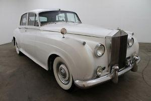 1961 ROLL ROYCE SILVER CLOUD II (RHD)