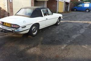 TRIUMPH STAG AUTO WHITE  Photo