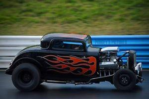 Ford 32 Model B 3W Coupe. V8 Hot Rod. 460 Big Block Ford