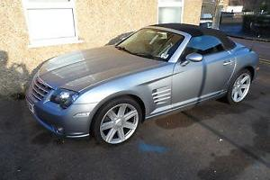 2006 CHRYSLER CROSSFIRE AUTO MET BLUE,CONVERTIBLE,55k,FSH,PX POSSIBLE