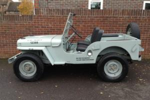 Willys Jeep CJ-2a Circa 1945 - 1950 Lots of Money Spent in the Last Few Years