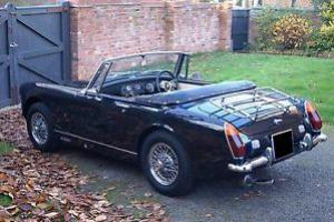 1974 MG MIDGET 1275 - RWA MODEL - CHROME WIRE WHEELS - COMPLETE RESTORATION