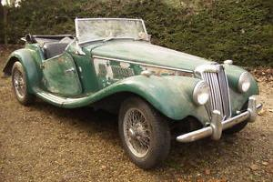 MG TF 1954 Restoration Project 1500cc  Photo