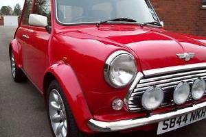 1998 ROVER MINI COOPER RED