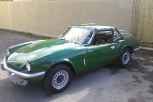 1978 TRIUMPH SPITFIRE 1500 GREEN  Photo