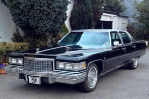 1976 Cadillac Fleetwood Brougham Sedan Automatic 8.2 V8 - 37,000 miles from new