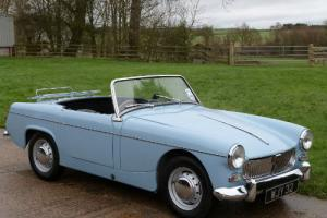MG MIDGET MK1 - VERY RARE - COMPLETE NUT AND BUILD RE-BUILD  Photo