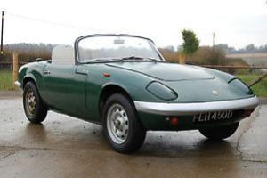 1965 Lotus Elan, type 26, DHC project