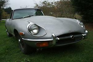E-TYPE COUPE WITH MANUAL GEARBOX, WILL RUN,