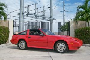 1986 Nissan 300zx Turbo Original Survivor Very Nice Condition Interior Low Miles