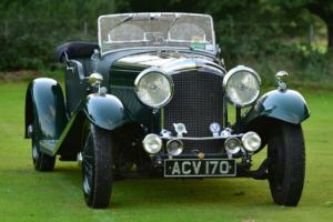 1934 Derby Bentley 3 1/2 Litre Convertible