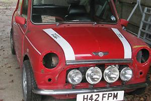 ROVER MINI COOPER RSP MINI RED/WHITE 1990  Photo