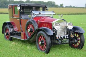 1927 Rolls Royce 20hp open drive Brougham.  Photo