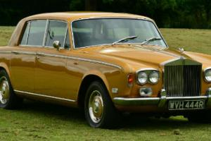 1977 Rolls Royce Silver Shadow 1.  Photo