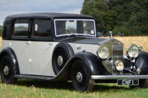 1936 Rolls Royce 25/30 Barker formal saloon.  Photo