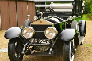 1924 Rolls Royce Silver Ghost Canterbury Landaulette.  Photo