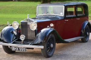 1935 Rolls Royce 20/25 Sports Saloon.  Photo