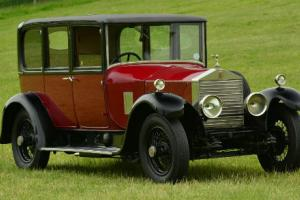 1926 Rolls-Royce 20hp Hooper six light non Division.  Photo