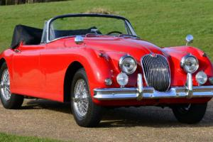 1958 Jaguar XK150 DHC LHD 3.4 Litre Fully restored.  Photo