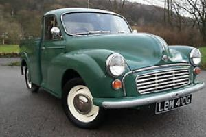 1969 morris minor 1000 pick up, fully refurbished fresh from the workshop