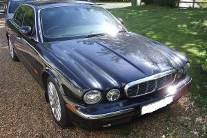 Jaguar XJ8 4.2 V8 SE Automatic Black Leather SAT NAV CD DVD Car For Sale  Photo