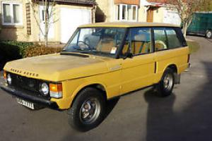1979 RANGE ROVER 2 DOOR  Photo