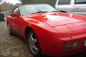 1989 PORSCHE 944 S2 CONVERTIBLE GUARDS RED