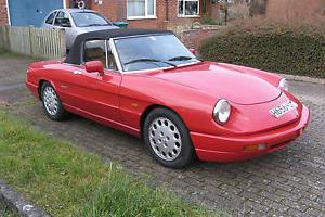 1990 ALFA ROMEO SPIDER 2.0 RED