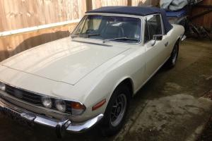 1972 TRIUMPH STAG - IDEAL WINTER PROJECT