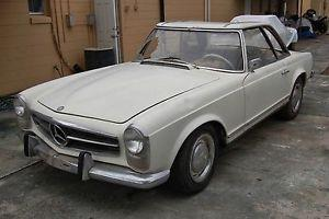 Mercedes Pagoda SL 230 1964, both tops, strong engine rebuilt, great project