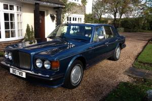 Bentley Turbo R 1985 6.8 V8 4 Door Saloon in Cobalt Blue Photo