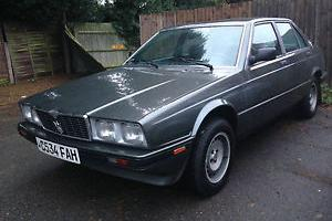 Maserati Biturbo 2.8, only 36000 miles, excellent condition, mot/tax, rust free
