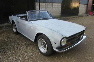 1972 Triumph TR6 LHD For restoration. Car Runs Drives L