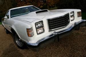 LOW MILEAGE AND ORIGINAL 70s FORD RANCHERO GT PICK UP LHD