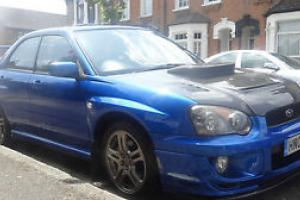 2004 SUBARU IMPREZA WRX TURBO BLUE