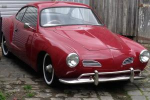 Volkswagen Karmann Ghia 1960 2D Coupe 4 SP Manual 1 2L Carb in Melbourne, VIC