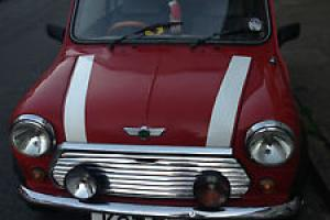 1992 ROVER MINI SPRITE RED 1275cc GREAT CONDITION  Photo