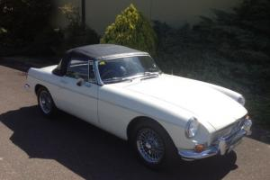 1968 MGB in South Eastern, NSW