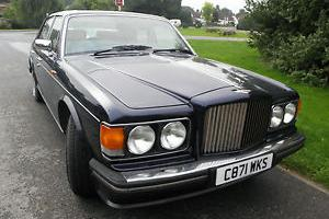 Bentley Turbo R in Royal Blue with Cream Leather Interior, Huge History File  Photo