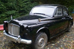 ROVER P4 80 REGISTERED 1960