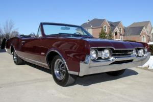 1967 Olds 442 Convertible 78k Miles GORGEOUS RARE WOW