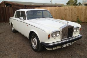 1982 Rolls Royce SIlver Shadow. Low mileage with History