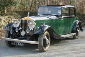 1934 Rolls-Royce PII Continental Barker Sports Saloon 54PY  Photo